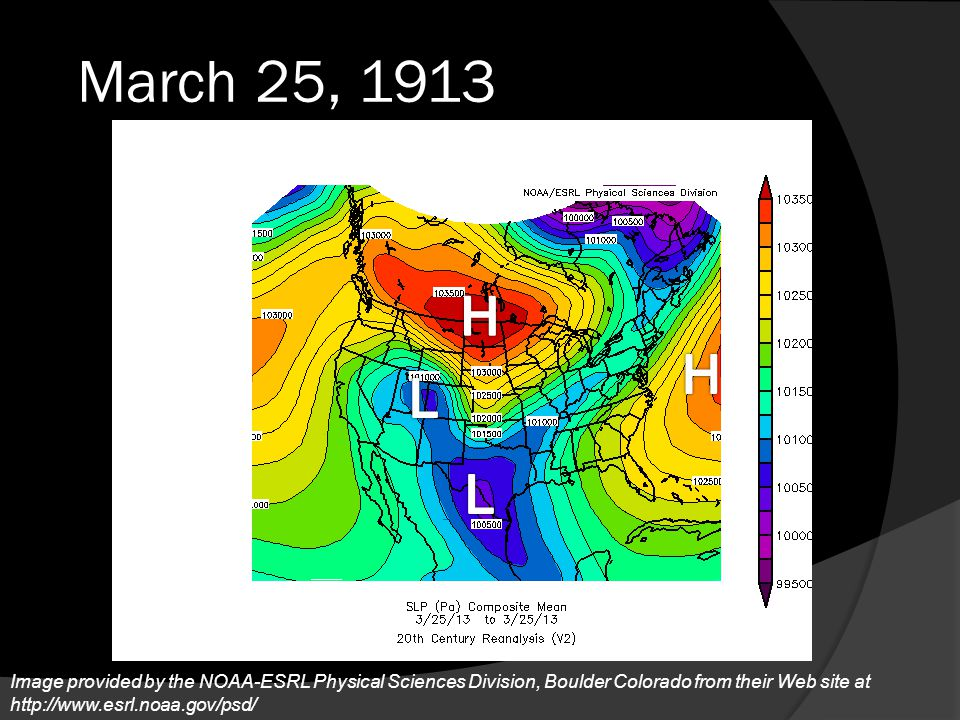 March 25, 1913 H. H. L.