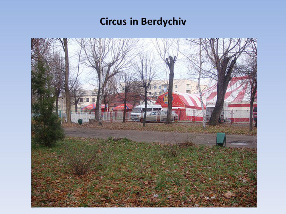 Circus in Berdychiv