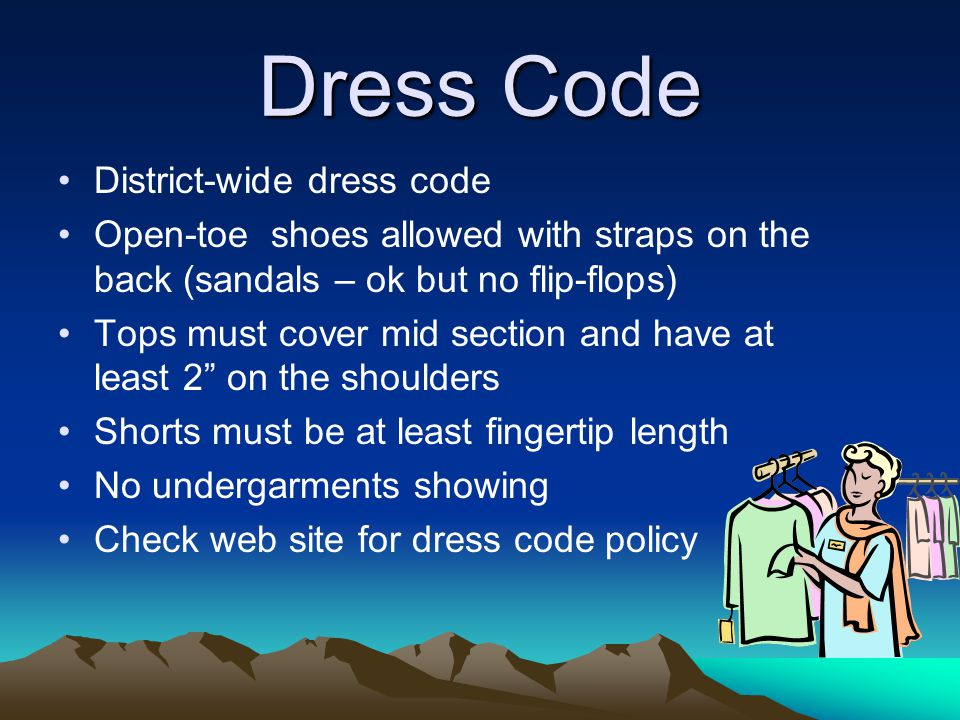 Dress Code District-wide dress code