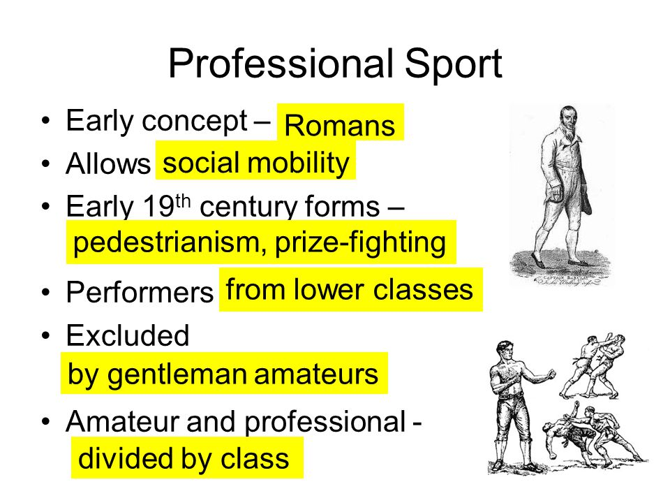Professional Sport Early concept – Romans Allows