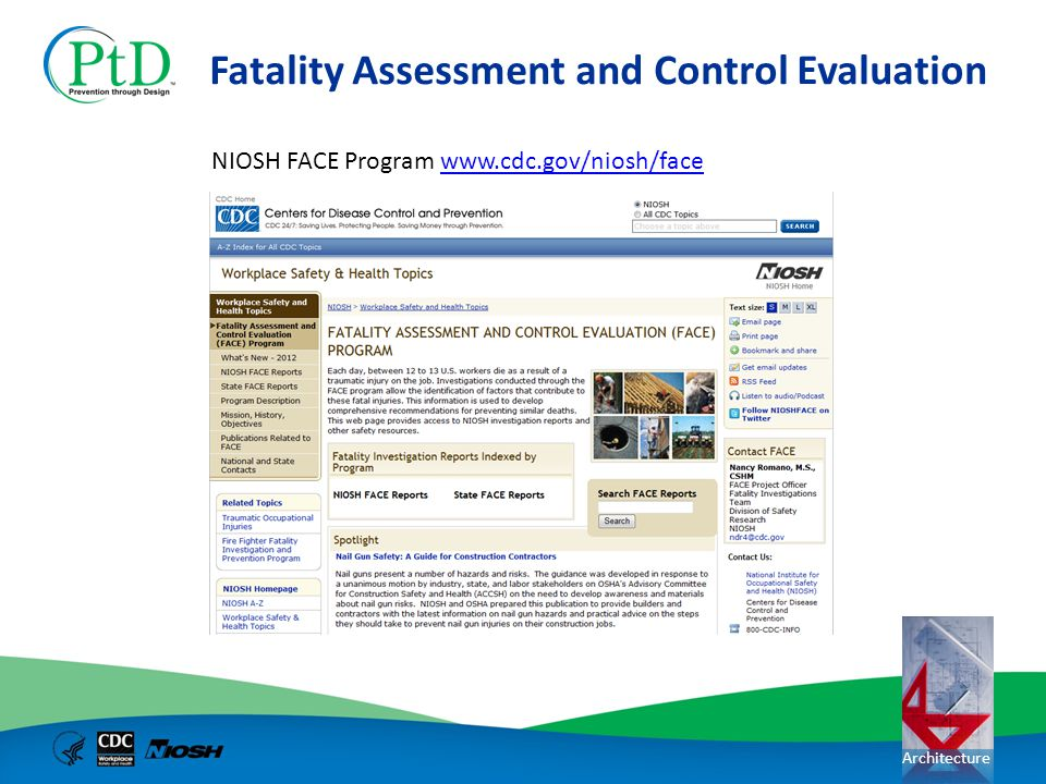 Fatality Assessment and Control Evaluation