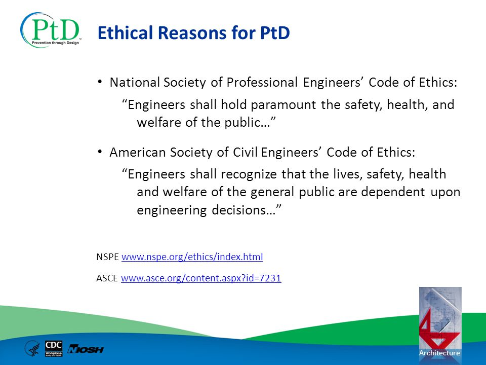 Ethical Reasons for PtD