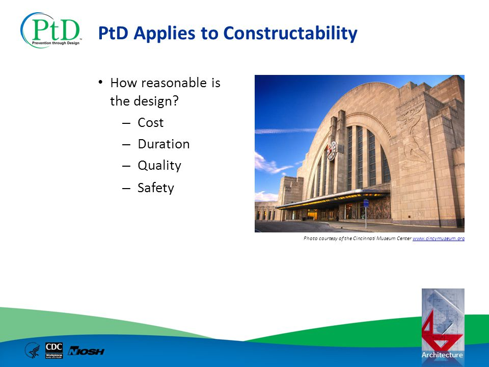 PtD Applies to Constructability