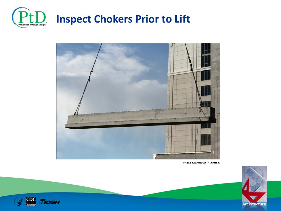 Inspect Chokers Prior to Lift