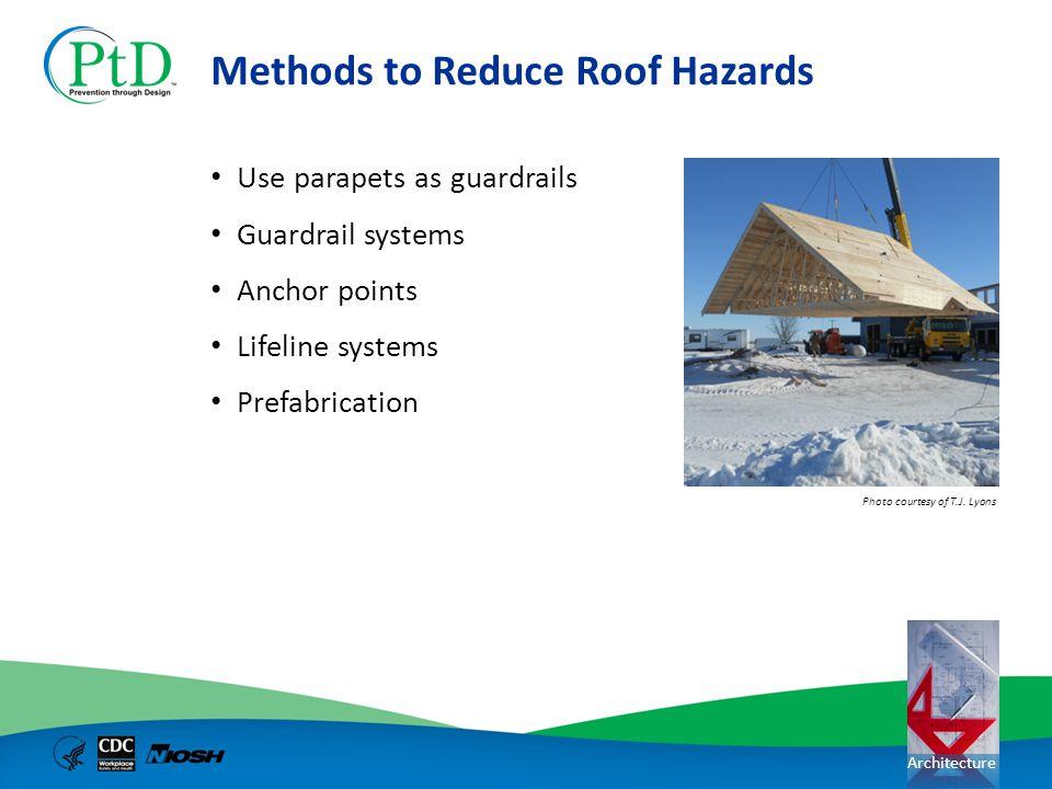 Methods to Reduce Roof Hazards