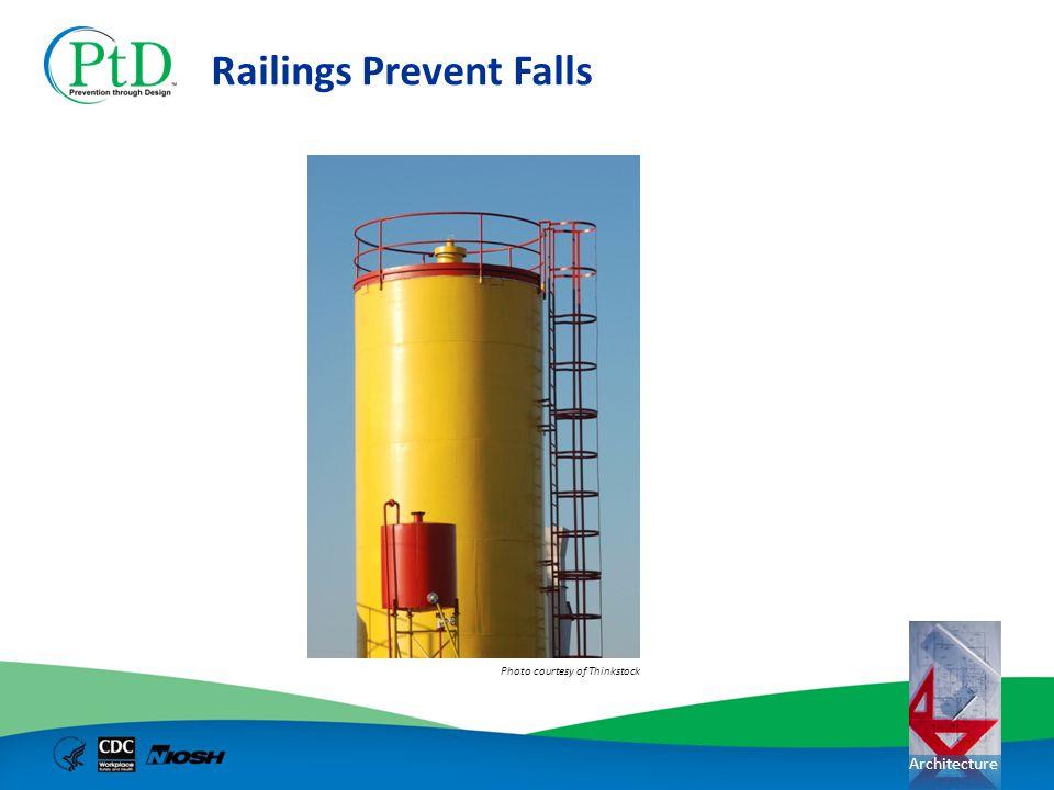 Railings Prevent Falls