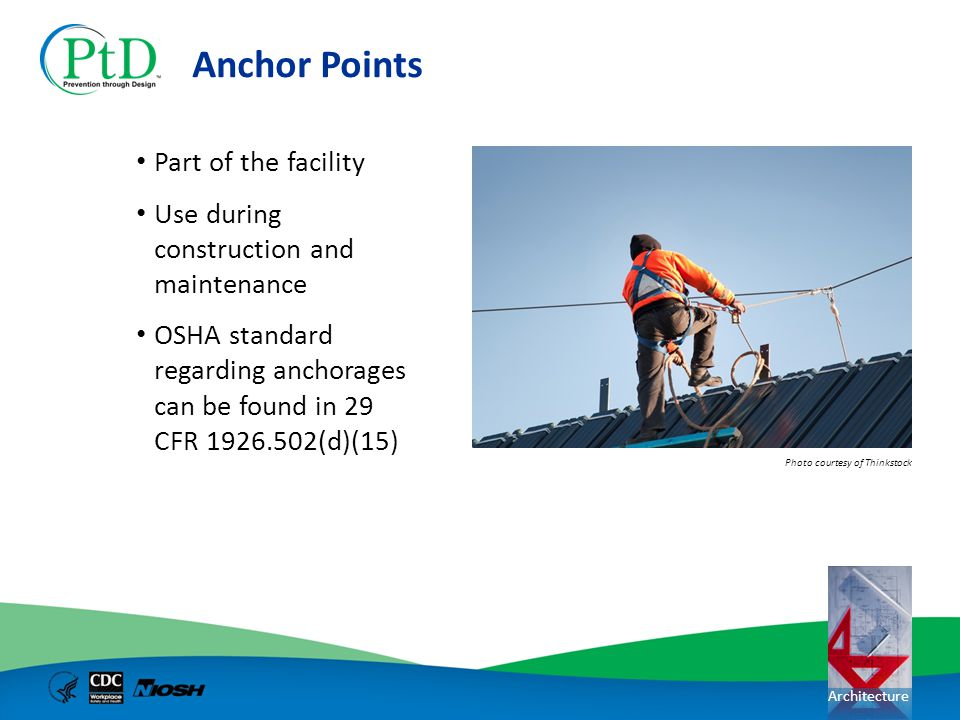 Anchor Points Part of the facility