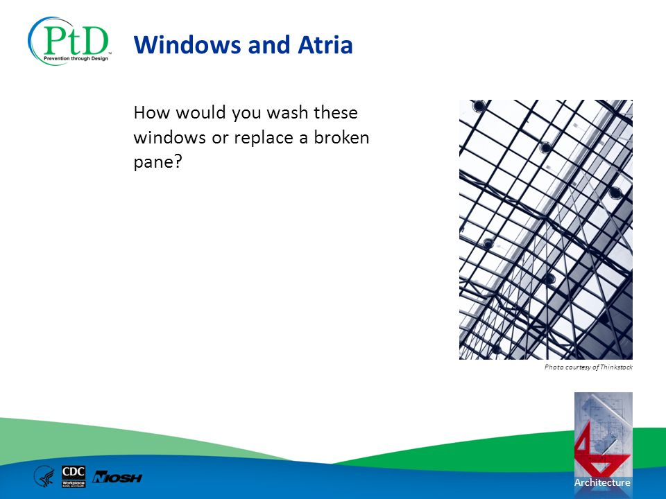 Windows and Atria How would you wash these windows or replace a broken pane.
