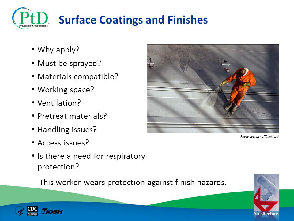 Surface Coatings and Finishes