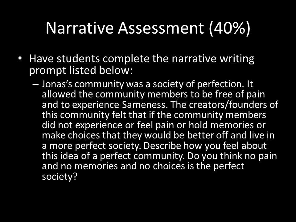 Narrative Assessment (40%)