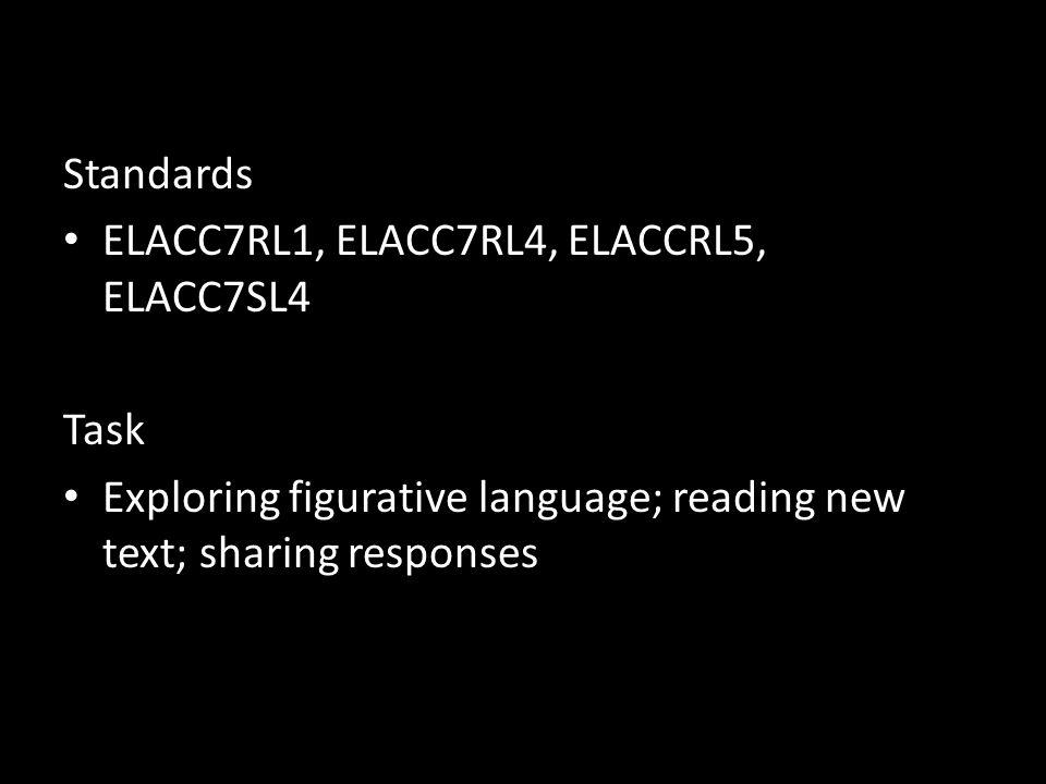 Standards ELACC7RL1, ELACC7RL4, ELACCRL5, ELACC7SL4.