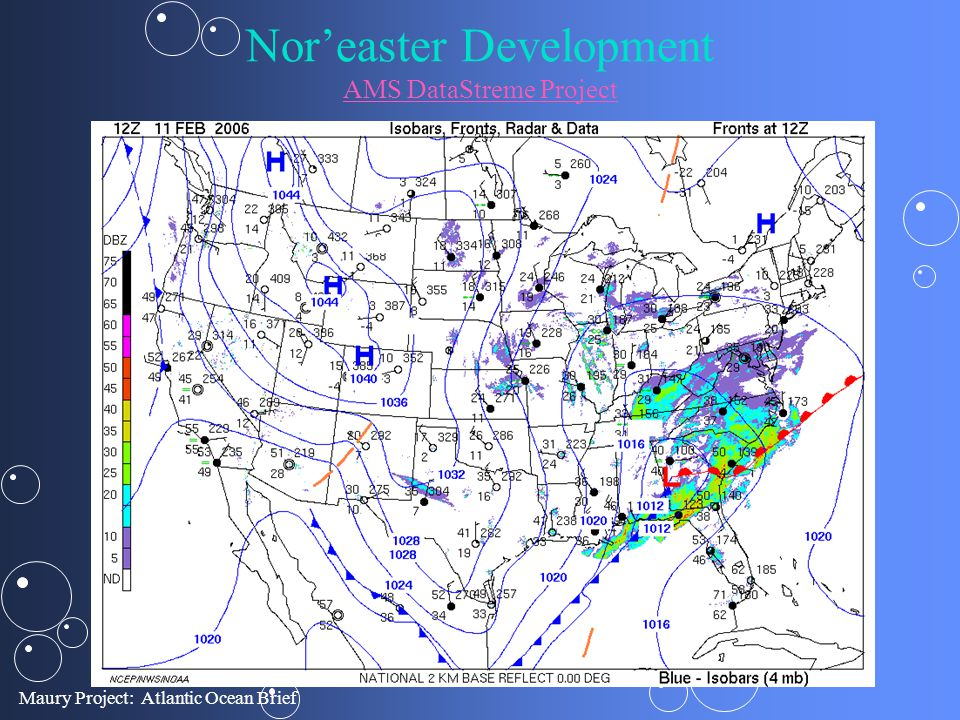 Nor'easter Development AMS DataStreme Project