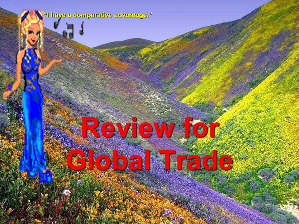 Review for Global Trade