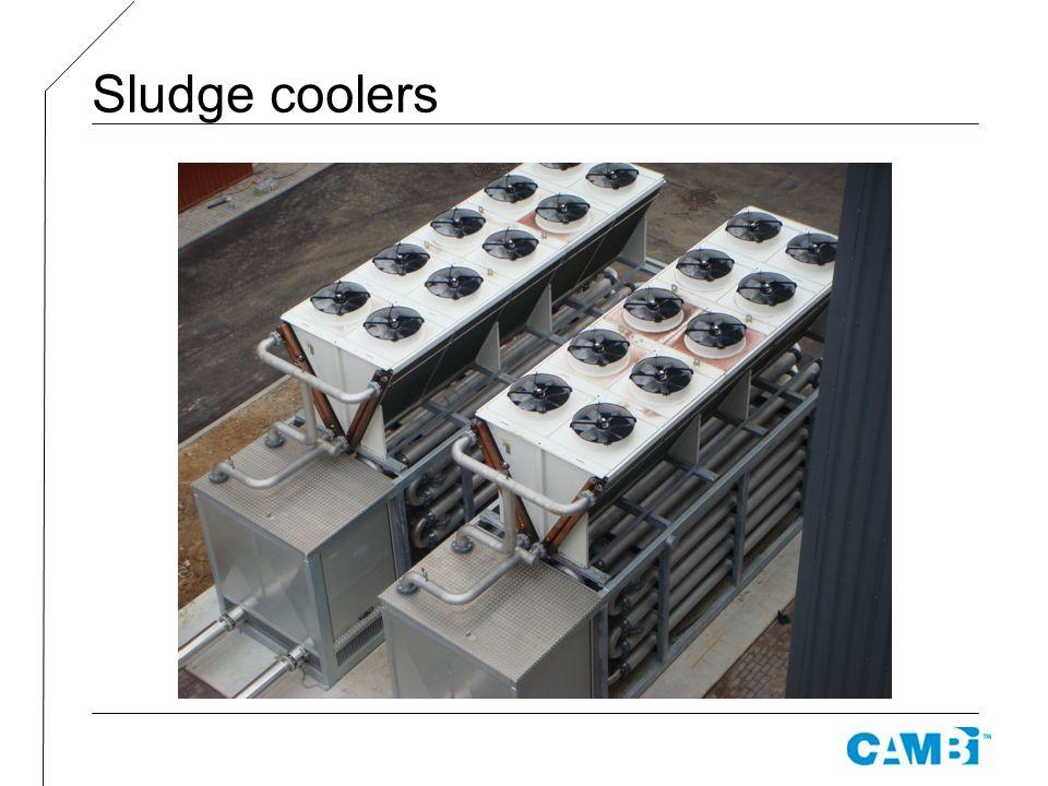 Sludge coolers