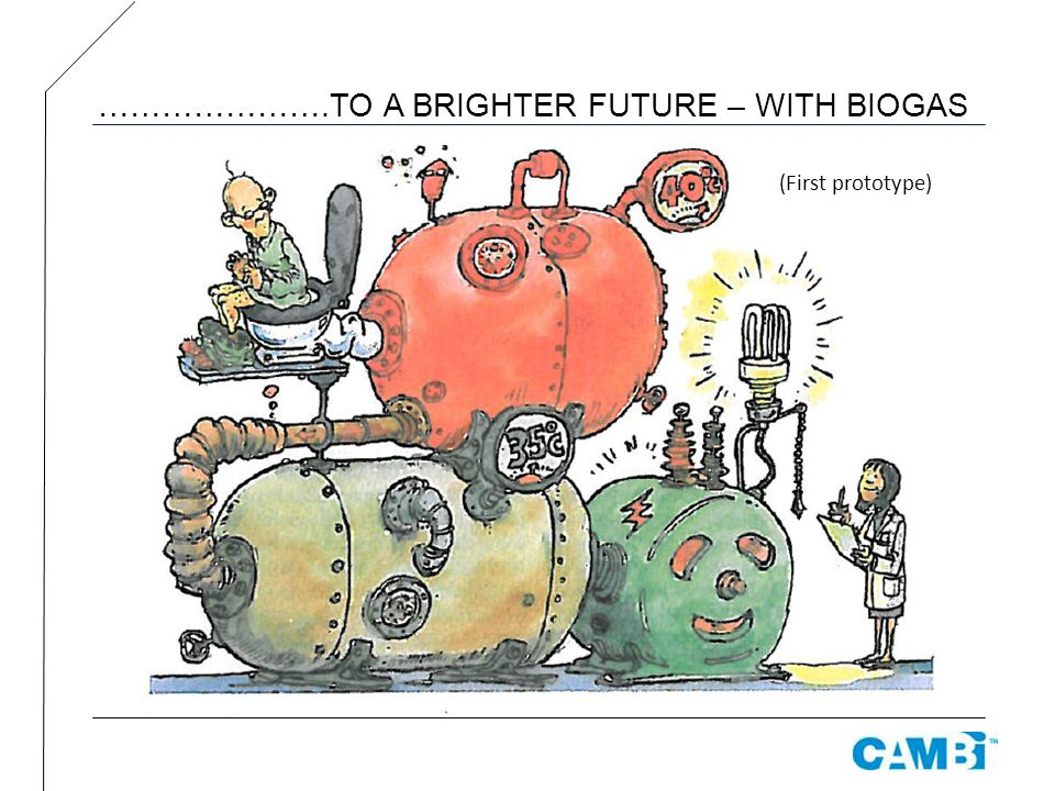 ………………….TO A BRIGHTER FUTURE – WITH BIOGAS
