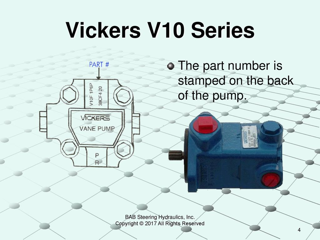 Identifying Vickers Power Steering Pumps - ppt download