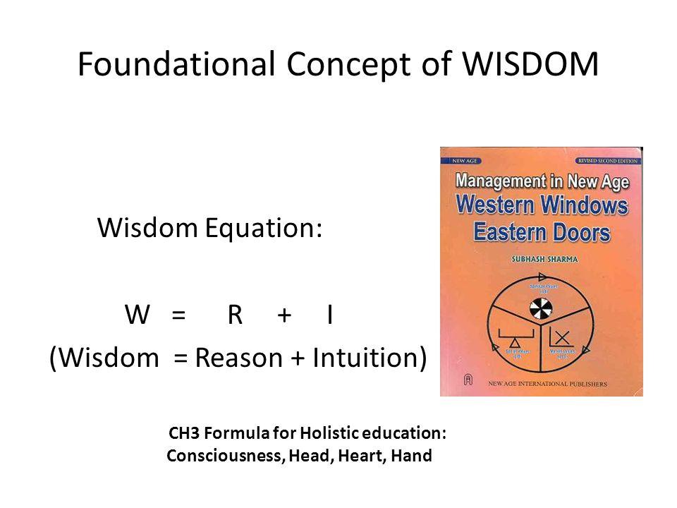 Foundational Concept of WISDOM