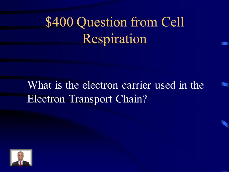 $400 Question from Cell Respiration