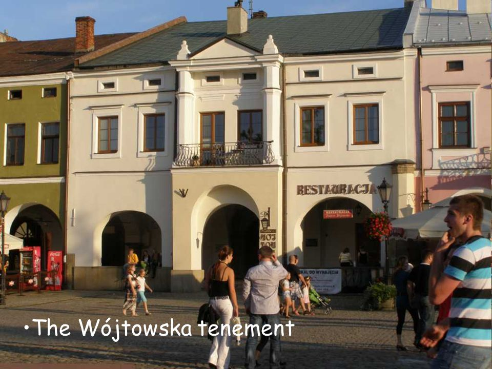 The Wójtowska tenement