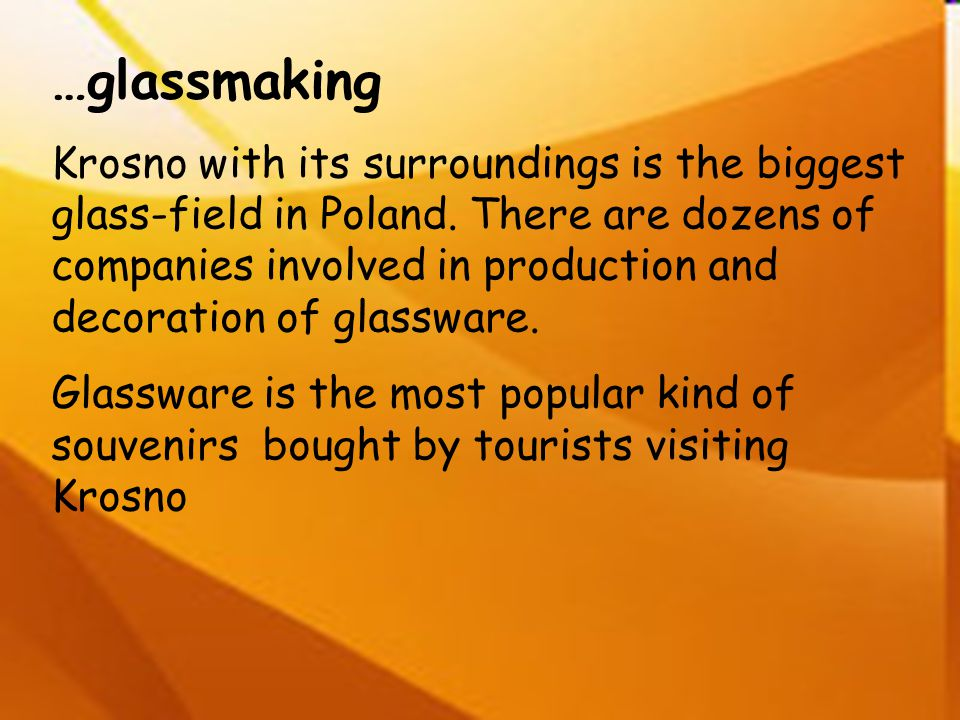 …glassmaking