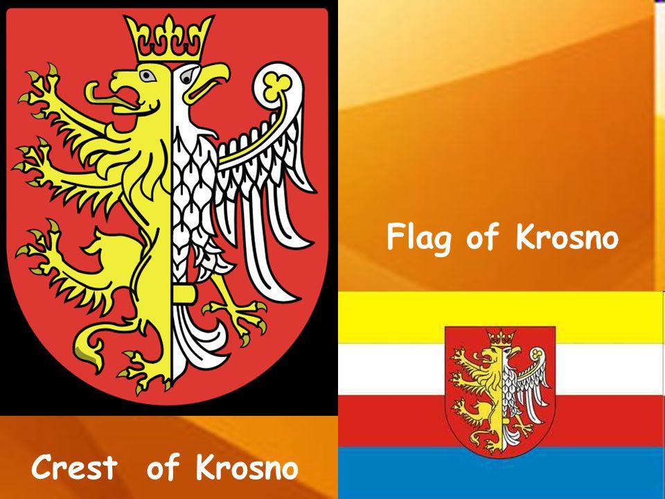 Flag of Krosno Crest of Krosno