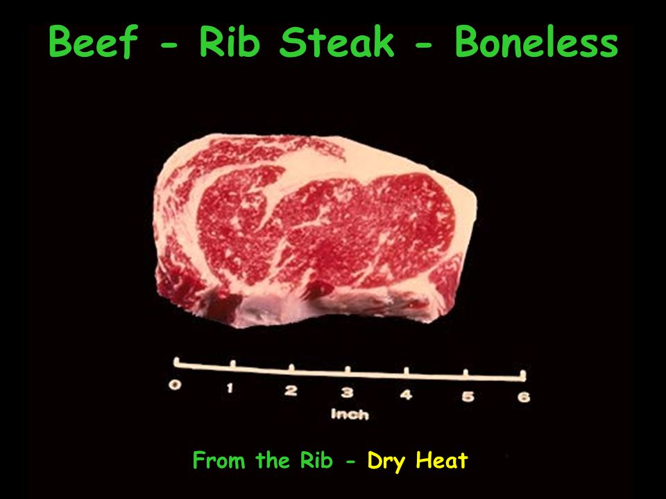 Beef - Rib Steak - Boneless