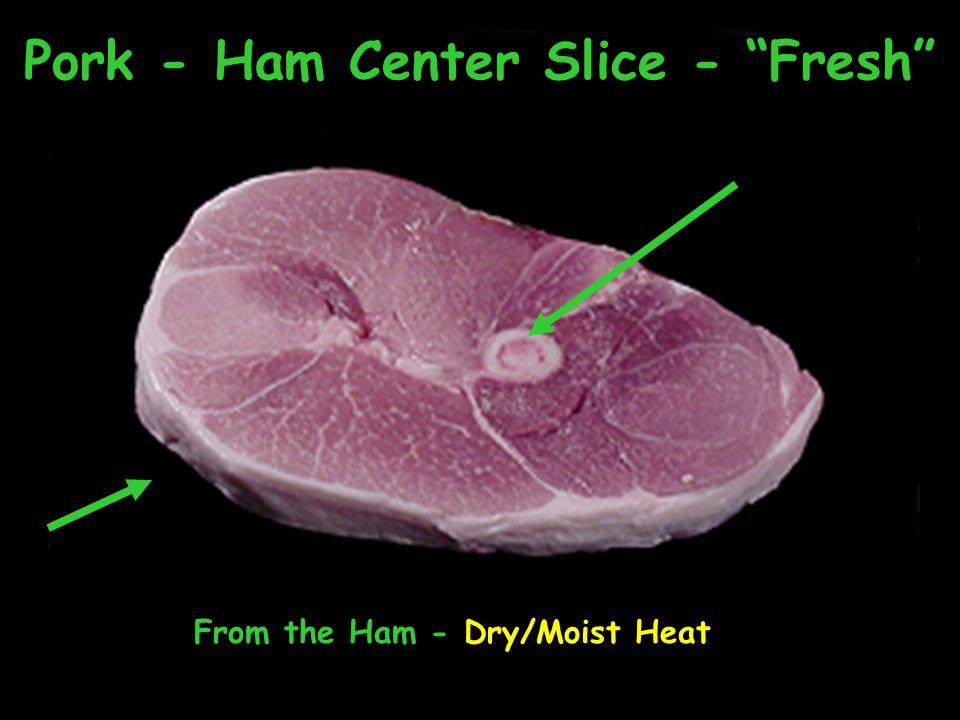 Pork - Ham Center Slice - Fresh