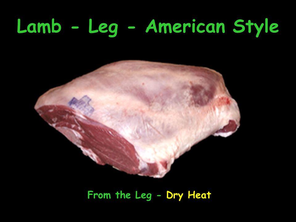 Lamb - Leg - American Style