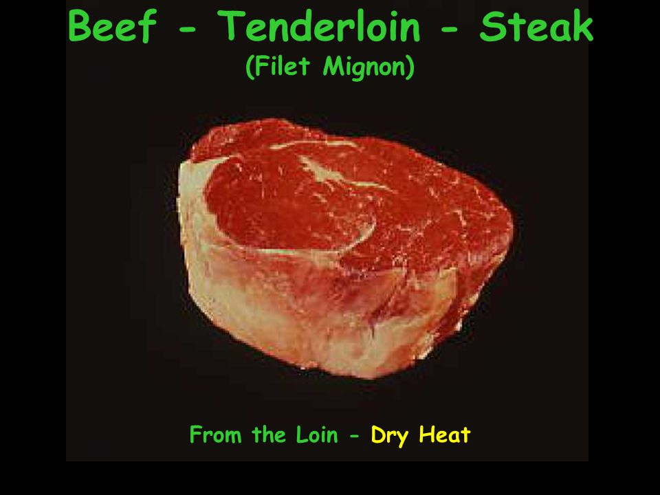 Beef - Tenderloin - Steak (Filet Mignon)