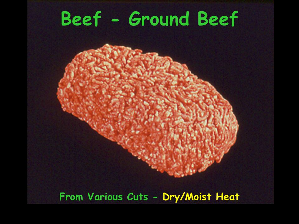From Various Cuts - Dry/Moist Heat