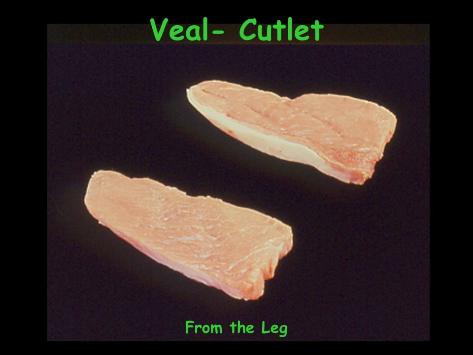 Veal- Cutlet From the Leg