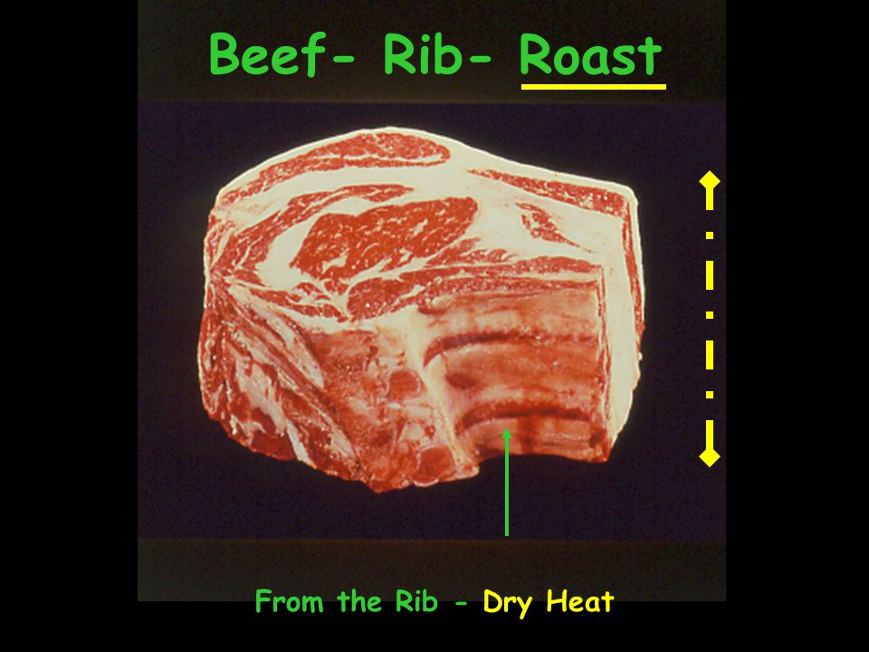 Beef- Rib- Roast From the Rib - Dry Heat
