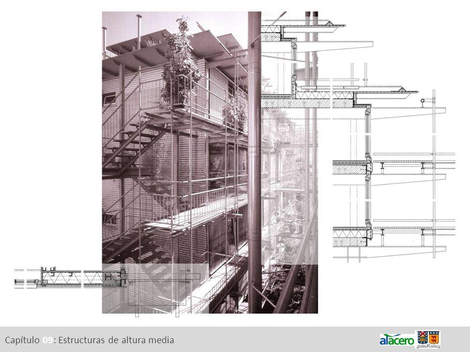 Capítulo 09: Estructuras de altura media
