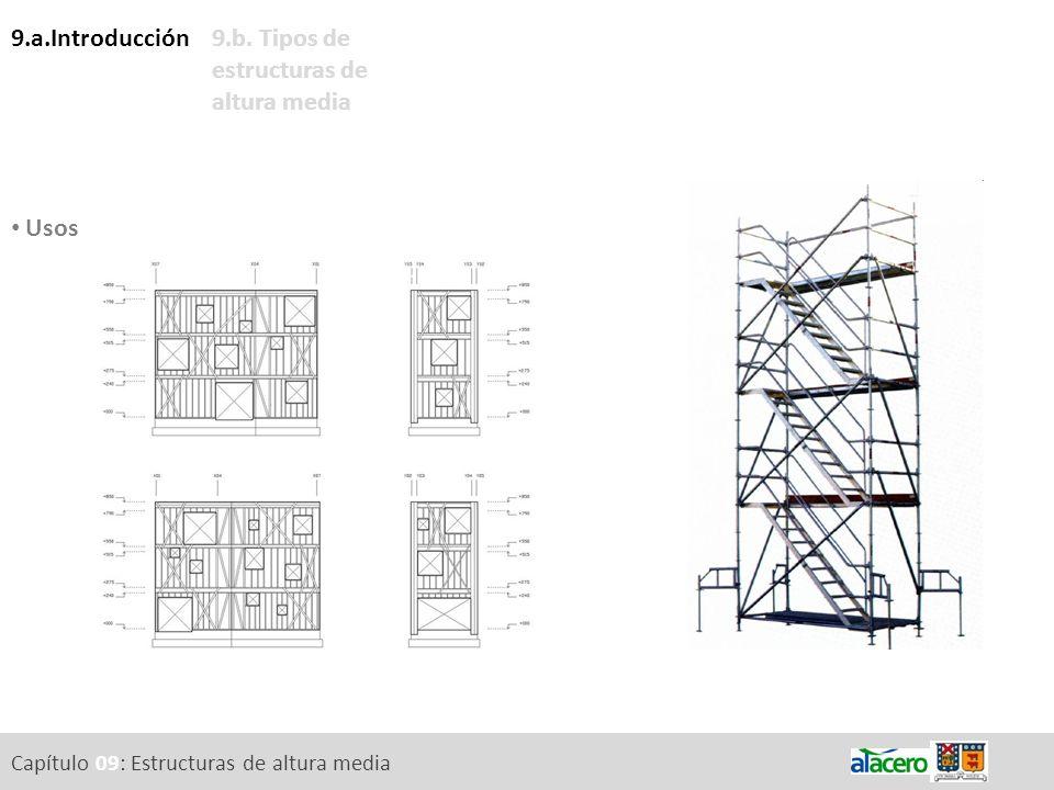 9.b. Tipos de estructuras de altura media