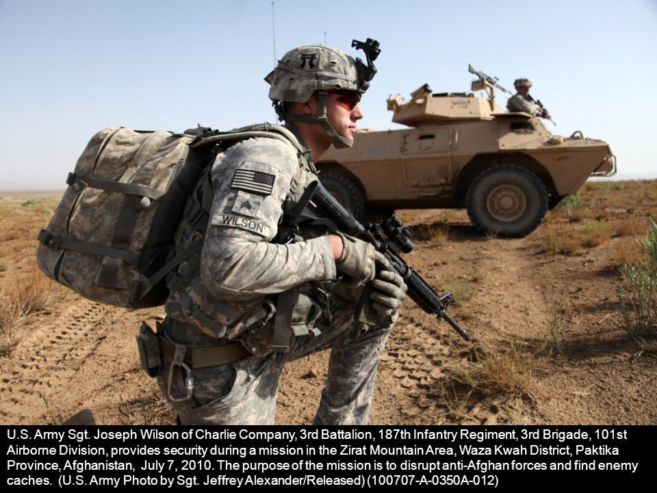 U.S. Army Sgt.