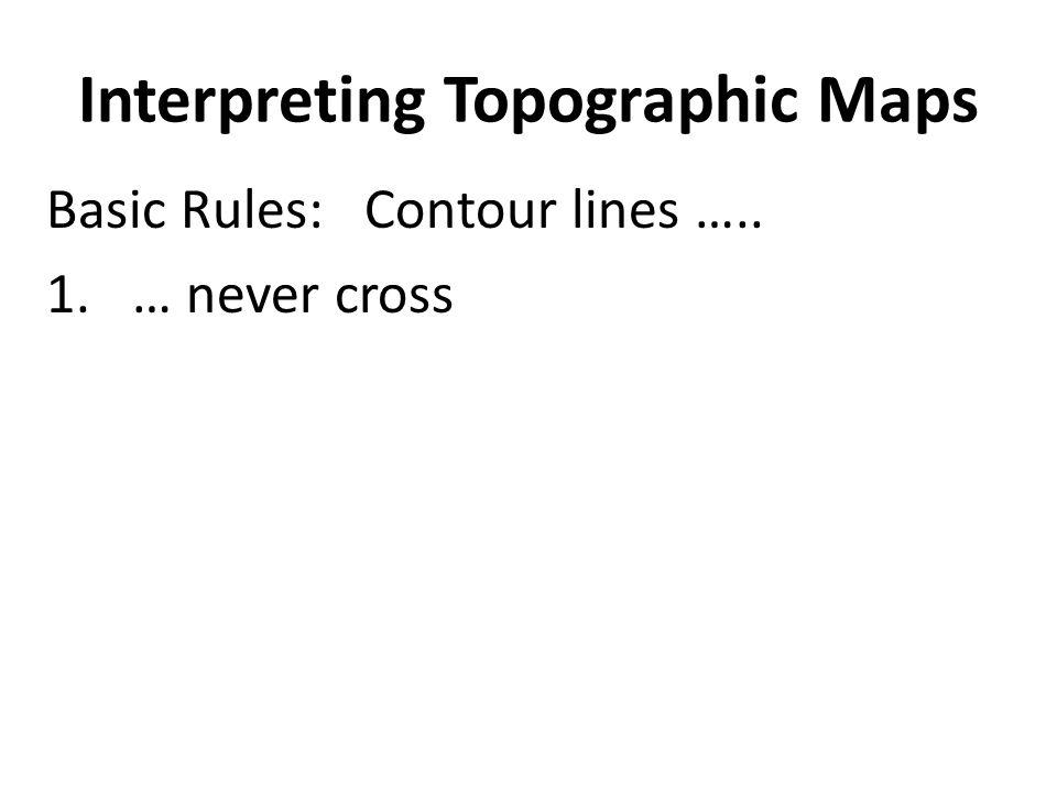 Interpreting Topographic Maps