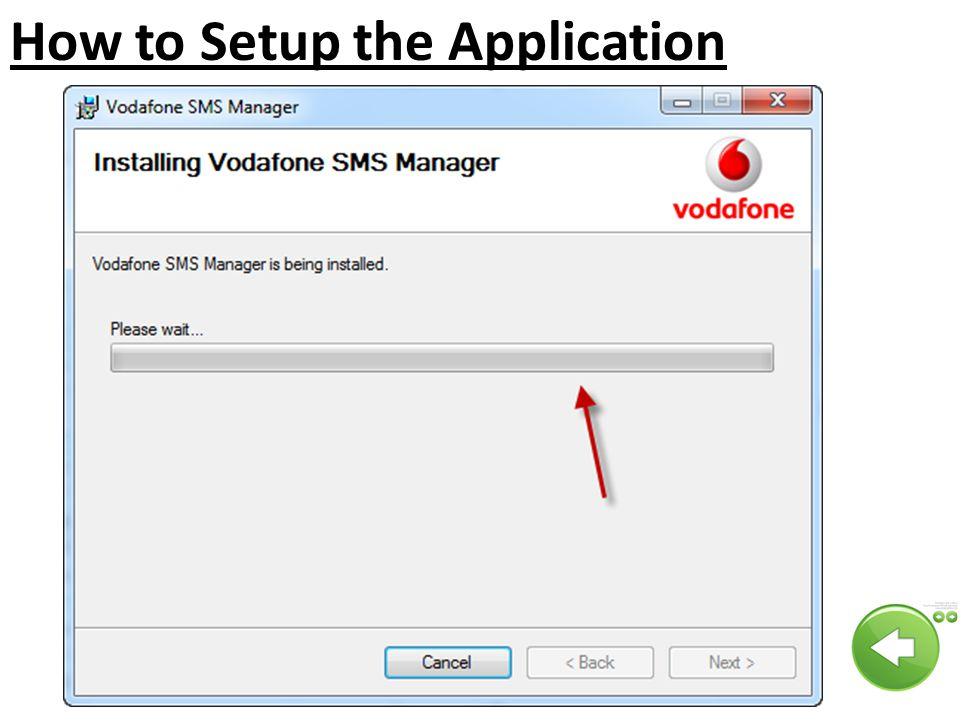 How to Setup the Application