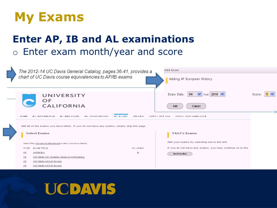 My Exams Enter AP, IB and AL examinations