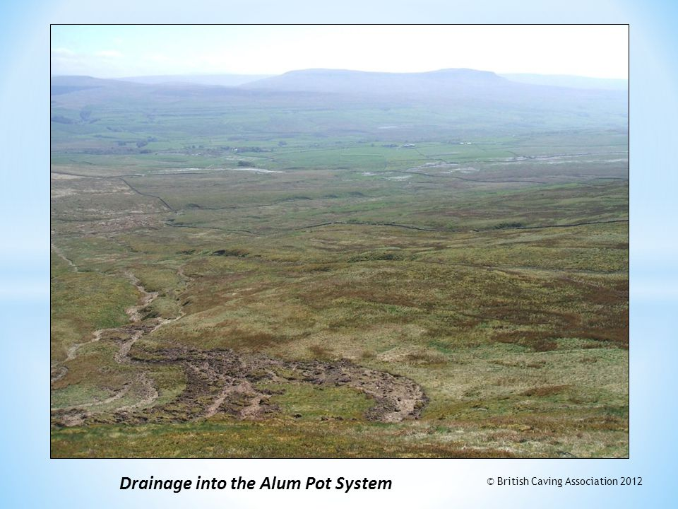 Drainage into the Alum Pot System