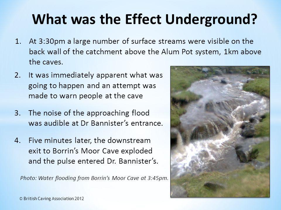 What was the Effect Underground