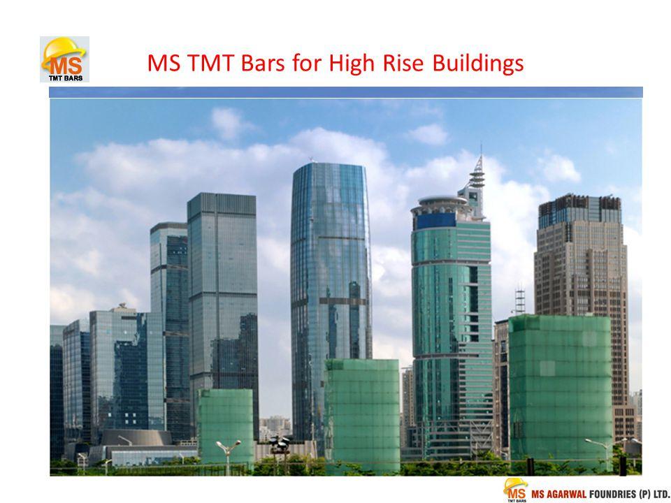 MS TMT Bars for High Rise Buildings