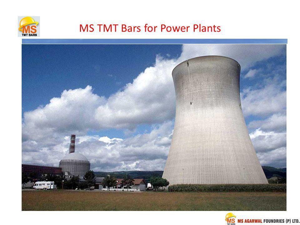 MS TMT Bars for Power Plants
