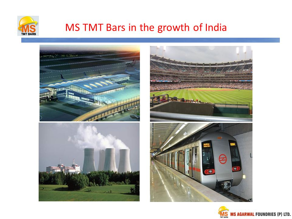MS TMT Bars in the growth of India