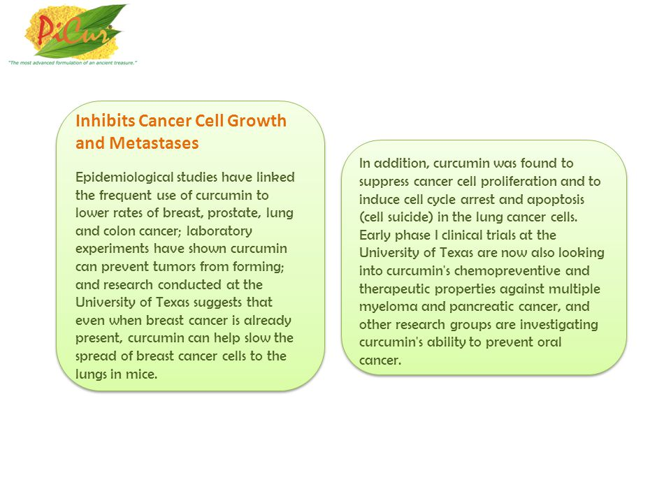 Inhibits Cancer Cell Growth and Metastases