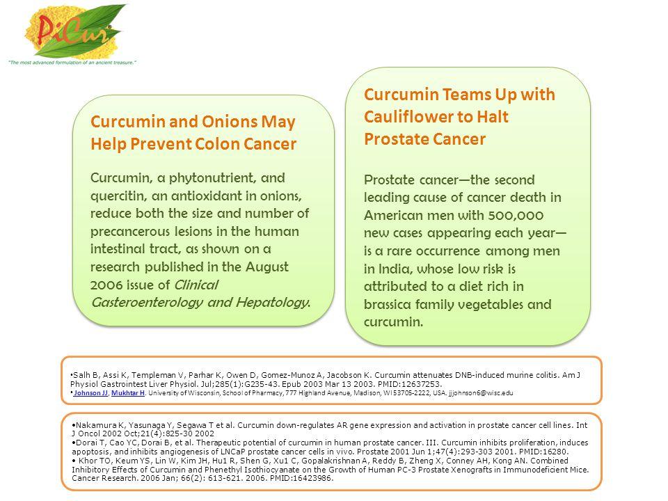 Curcumin Teams Up with Cauliflower to Halt Prostate Cancer