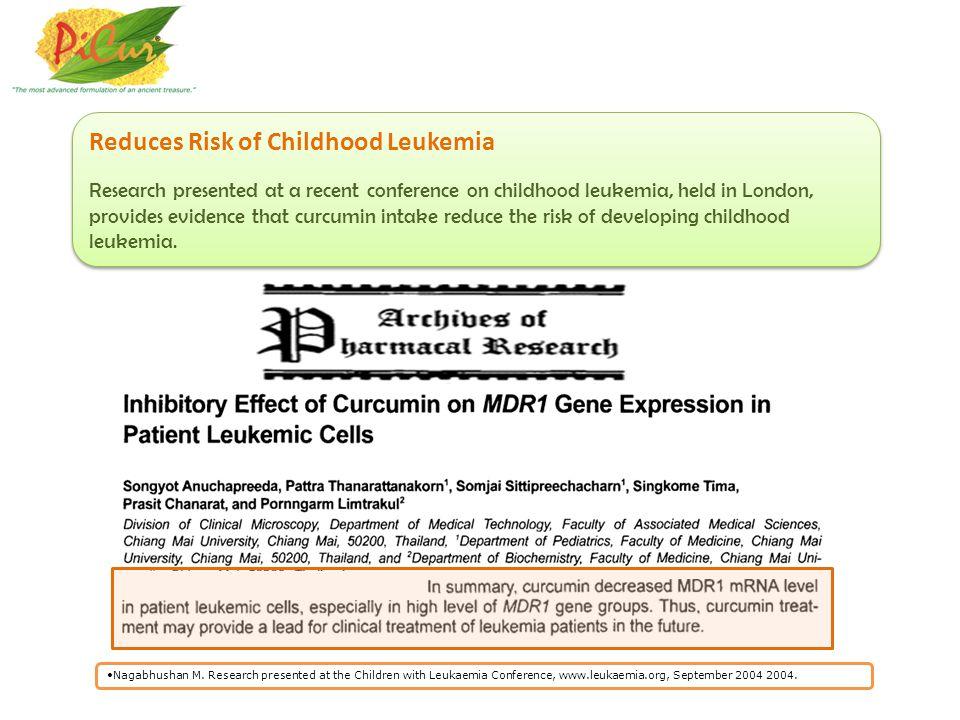 Reduces Risk of Childhood Leukemia