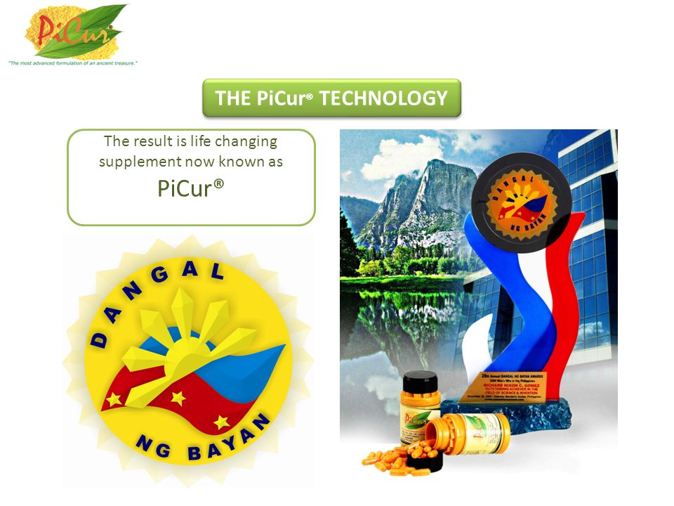 The result is life changing supplement now known as PiCur®
