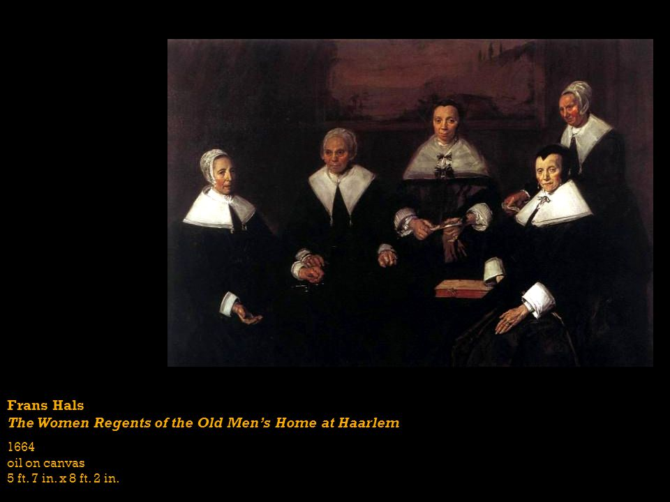 The Women Regents of the Old Men's Home at Haarlem