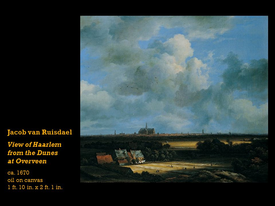 View of Haarlem from the Dunes at Overveen