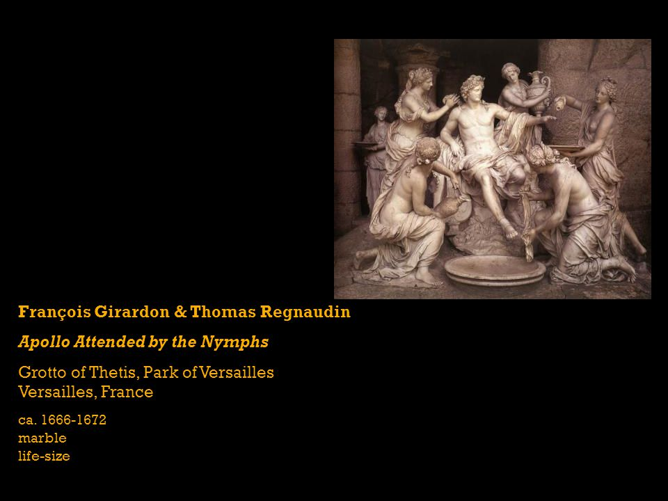 François Girardon & Thomas Regnaudin Apollo Attended by the Nymphs